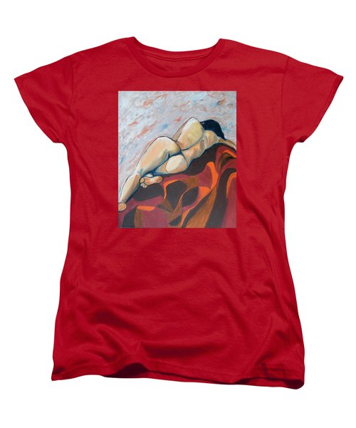 The Anguish Of Love Women's T-Shirt (Standard Cut) by Esther Newman-Cohen