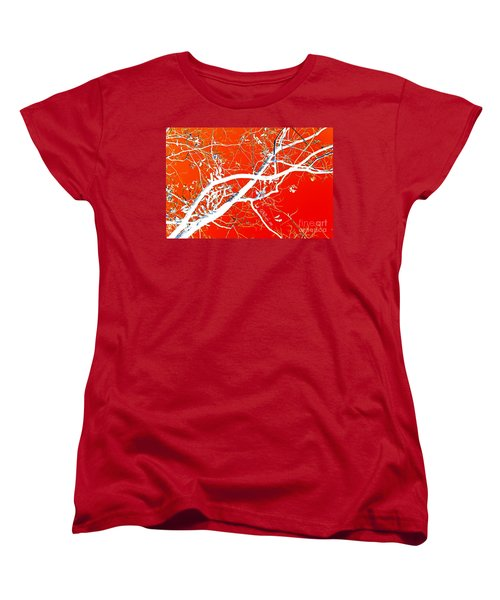 The Asian Tree Women's T-Shirt (Standard Cut) by Donna Bentley