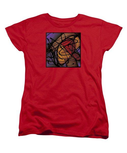 The B-boy As Breaker Women's T-Shirt (Standard Cut) by Ismael Cavazos