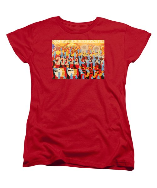 The Band Women's T-Shirt (Standard Cut) by Rodger Ellingson