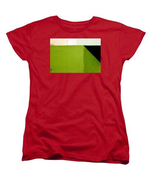 The Black Triangle Women's T-Shirt (Standard Cut) by Prakash Ghai