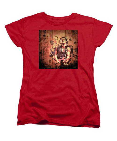 The Boss 1985 Women's T-Shirt (Standard Cut) by Paula Ayers