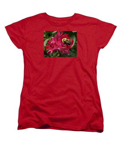 The Bumble Bee Women's T-Shirt (Standard Cut) by Mark Allen