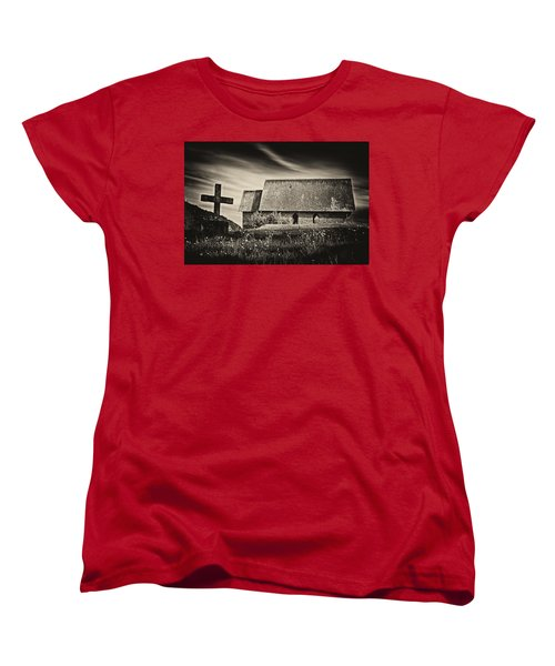 The Butter Church - 365-41 Women's T-Shirt (Standard Cut) by Inge Riis McDonald