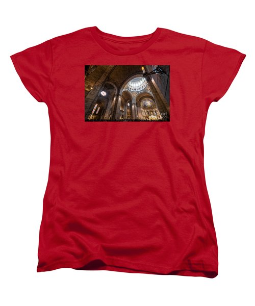 The Candle Women's T-Shirt (Standard Cut) by Giuseppe Torre