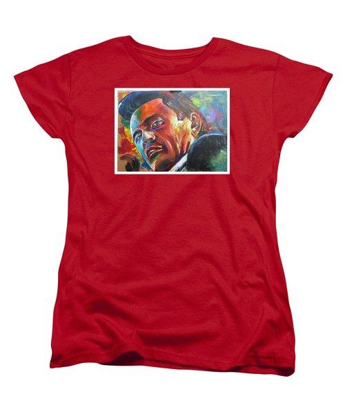 The Cash Man Women's T-Shirt (Standard Cut) by Ken Pridgeon
