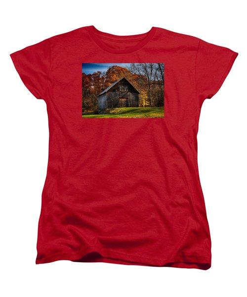 The Chester Farm Women's T-Shirt (Standard Cut) by Tricia Marchlik