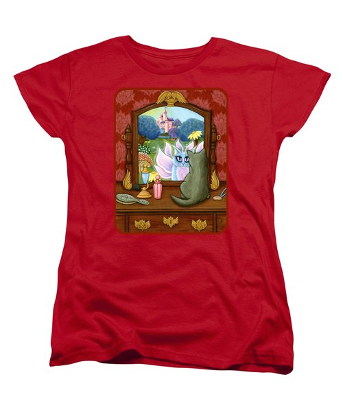 The Chimera Vanity - Fantasy World Women's T-Shirt (Standard Cut) by Carrie Hawks