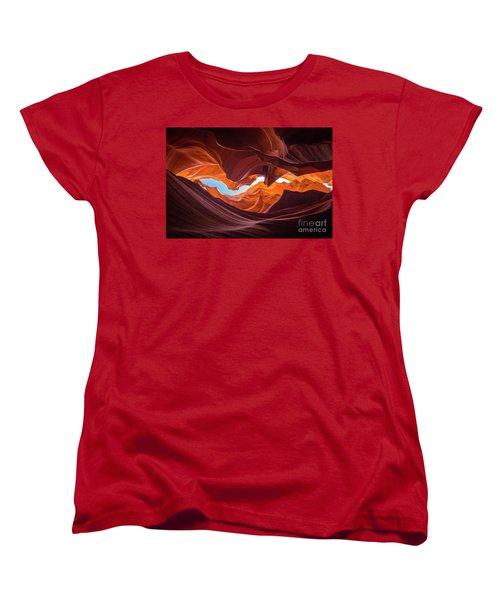 The Crack Women's T-Shirt (Standard Cut) by JR Photography