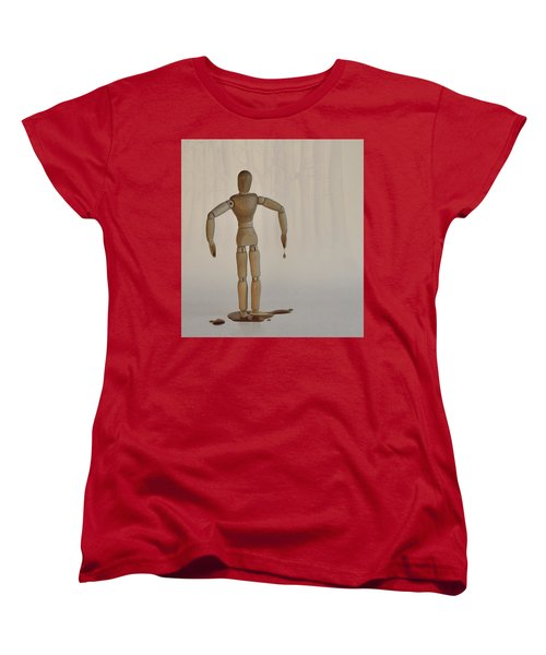 Women's T-Shirt (Standard Cut) featuring the photograph The Curse Of Maple Tree Ancestry by Mark Fuller