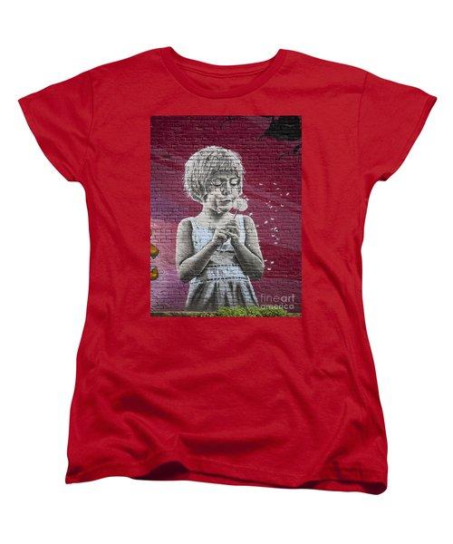 The Dandelion Women's T-Shirt (Standard Cut) by Chris Dutton