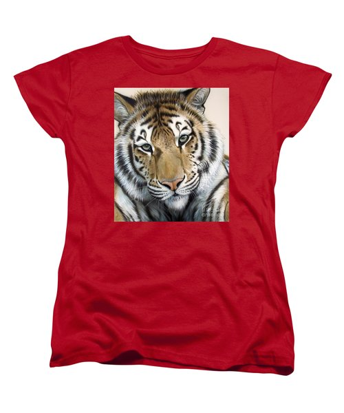 The Embrace Women's T-Shirt (Standard Cut) by Sandi Baker