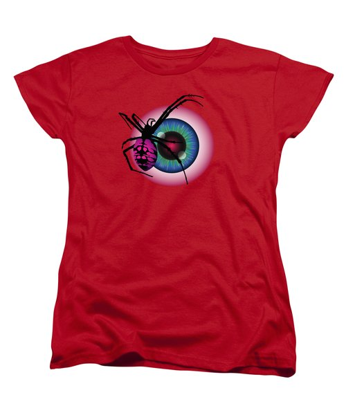 The Eye Of Fear Women's T-Shirt (Standard Cut) by MM Anderson