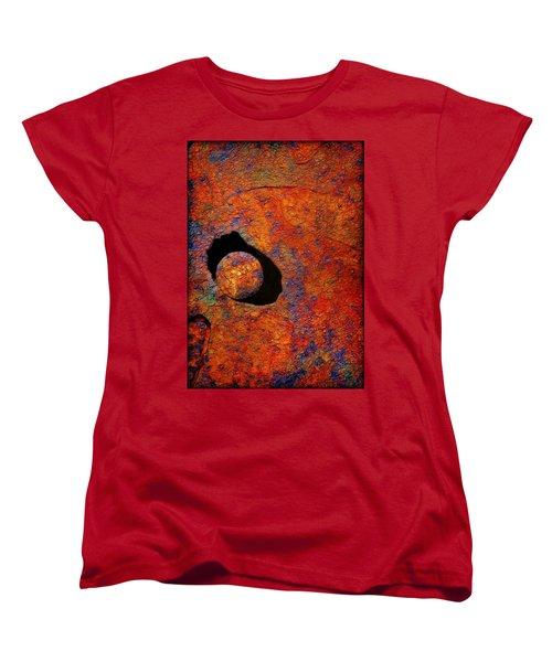 The Eye Of The Pelican Women's T-Shirt (Standard Cut) by Judi Bagwell
