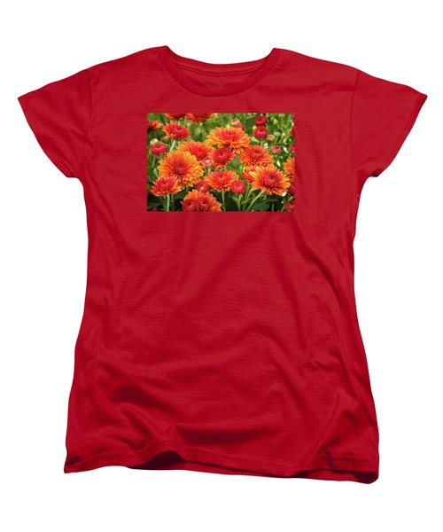 Women's T-Shirt (Standard Cut) featuring the photograph The Fall Bloom by Bill Pevlor