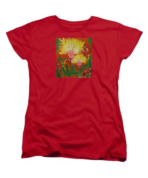 Family Women's T-Shirt (Standard Cut) by Rita Fetisov
