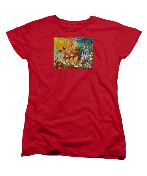 The Field Women's T-Shirt (Standard Cut) by Teresa Wegrzyn
