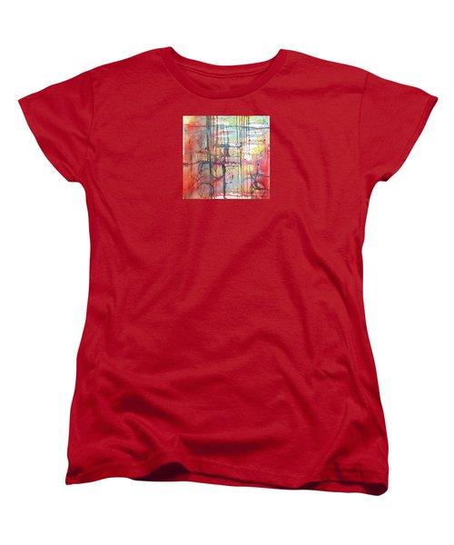 The Fire Within Women's T-Shirt (Standard Cut) by Rebecca Davis