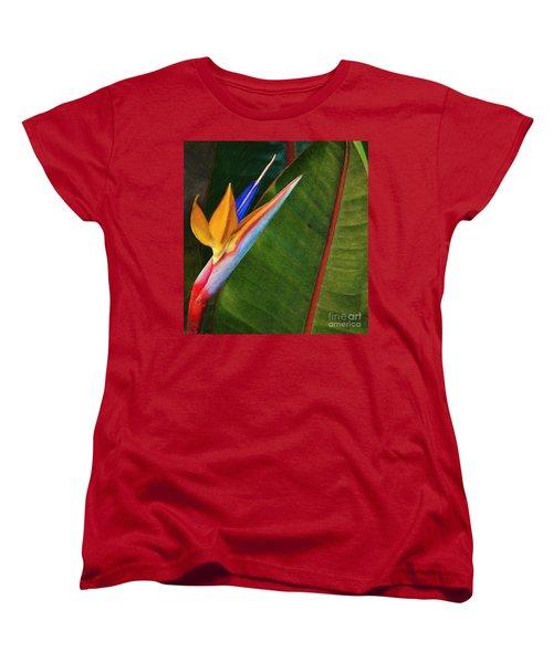 the flower of God Women's T-Shirt (Standard Cut) by John Kolenberg