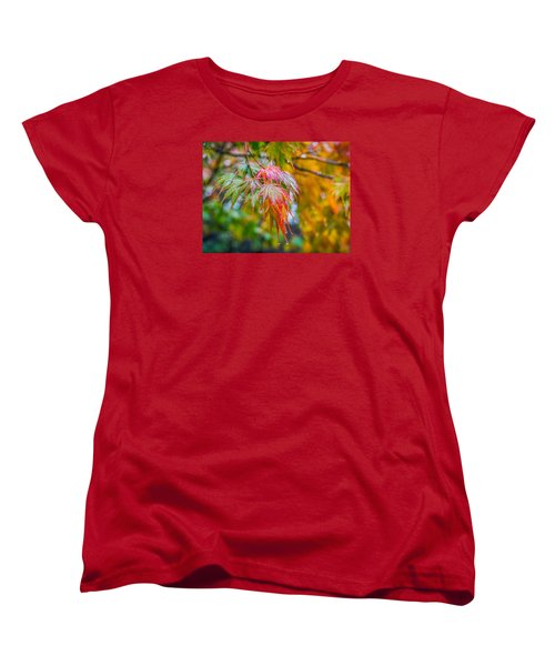 The Freshness Of Fall Women's T-Shirt (Standard Cut) by Ken Stanback