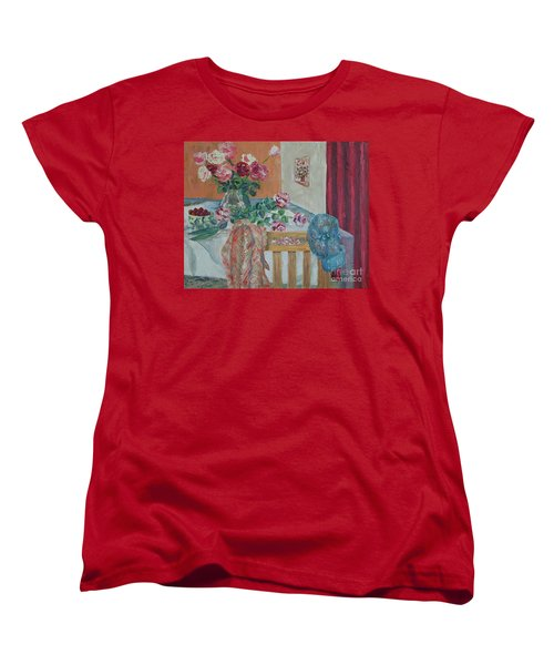 The Gardener's Table Women's T-Shirt (Standard Cut) by Judith Espinoza