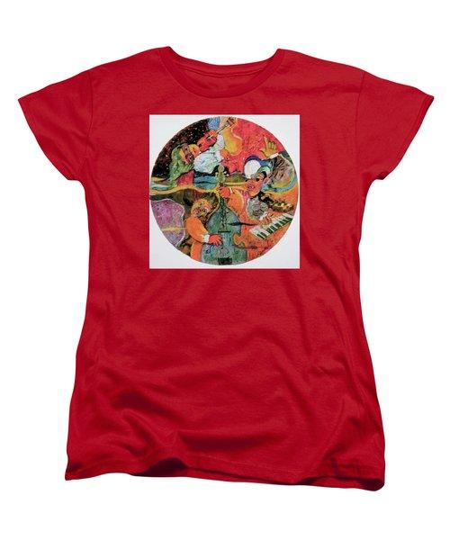 The Holland Jazz Trio Women's T-Shirt (Standard Cut) by Lee Ransaw