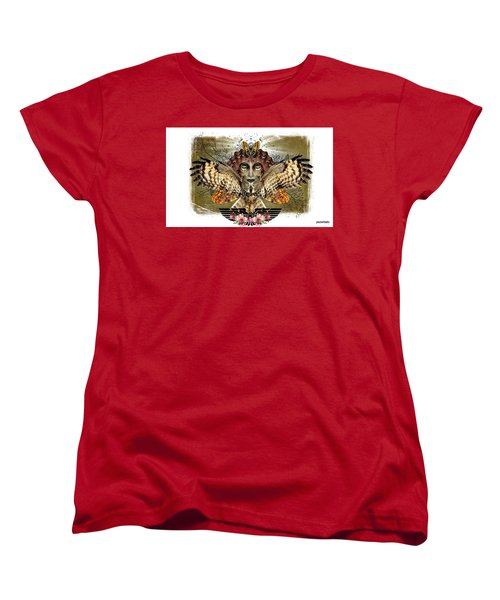 The Illusion Was Exposed Women's T-Shirt (Standard Cut) by Paulo Zerbato