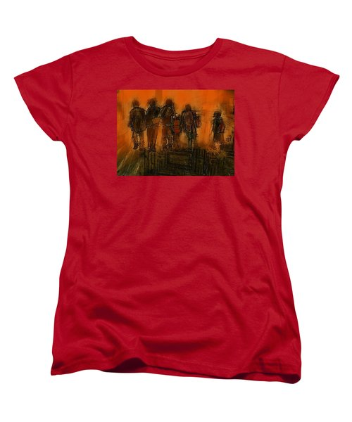 The Knowledge Seekers Women's T-Shirt (Standard Cut) by Jim Vance