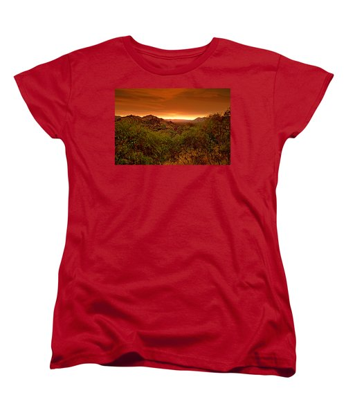 Women's T-Shirt (Standard Cut) featuring the photograph The Land Before Time by Paul Svensen