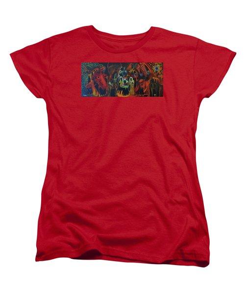 The Last Supper Women's T-Shirt (Standard Cut) by Christophe Ennis