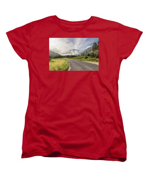 Women's T-Shirt (Standard Cut) featuring the photograph The Magic Morning by Sergey Simanovsky