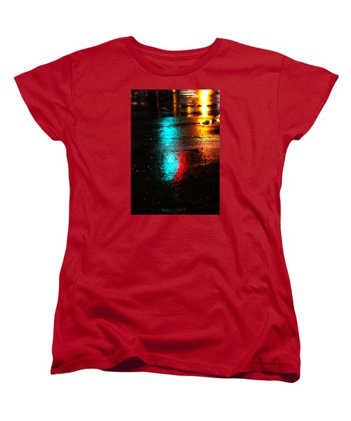 The Memory Lane Women's T-Shirt (Standard Cut) by Prakash Ghai