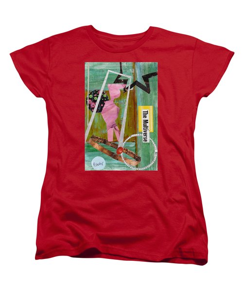 The Multiverse Women's T-Shirt (Standard Cut) by Patricia Cleasby