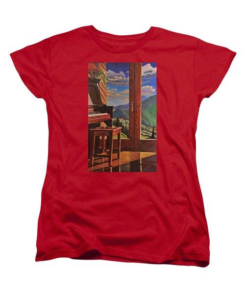 The Music Room Women's T-Shirt (Standard Cut)