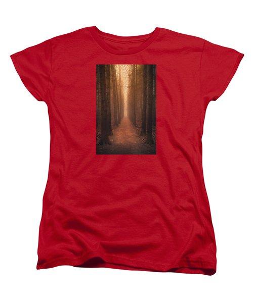 The Narrow Path Women's T-Shirt (Standard Cut) by Rob Blair