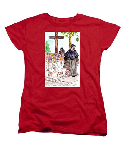 The Nuns Of St Marys Women's T-Shirt (Standard Cut) by Philip Bracco