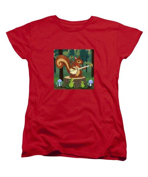 The Nutport Croak Music Festival Women's T-Shirt (Standard Cut)