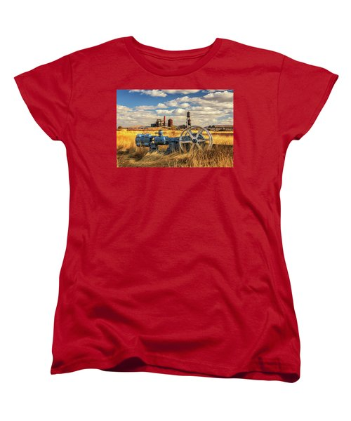 The Old Lumber Mill Women's T-Shirt (Standard Cut) by James Eddy