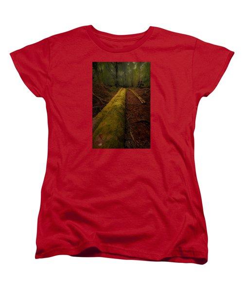 The Old Mossy Trunk Women's T-Shirt (Standard Cut)