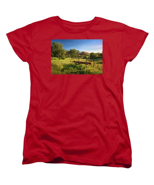 The Old Mower 1 Women's T-Shirt (Standard Cut) by Endre Balogh