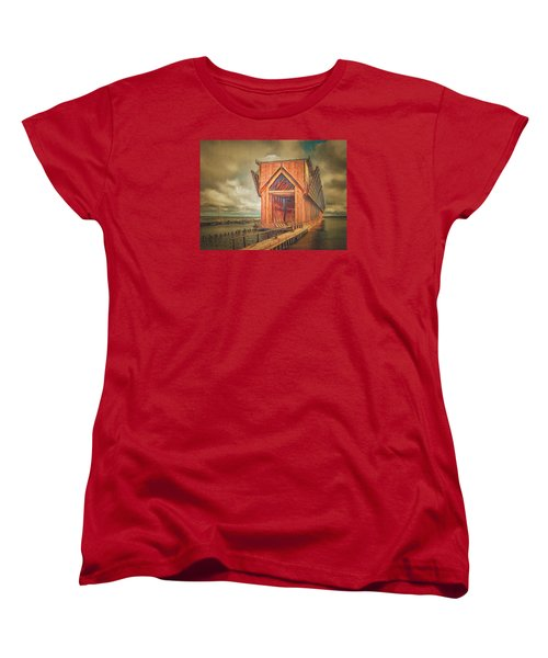 The Ore Is Gone Redux Women's T-Shirt (Standard Cut) by MJ Olsen