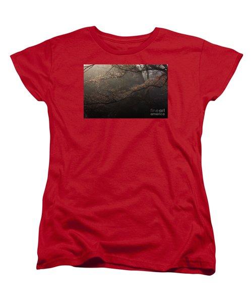 The Peaceful Mind Of All Wonderful People Women's T-Shirt (Standard Cut) by Steven Macanka
