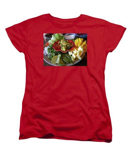 The Perfect Taco  Women's T-Shirt (Standard Cut) by Sian Lindemann