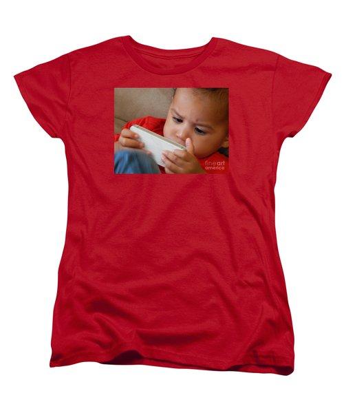 The Power Of Internet Women's T-Shirt (Standard Cut) by Beto Machado