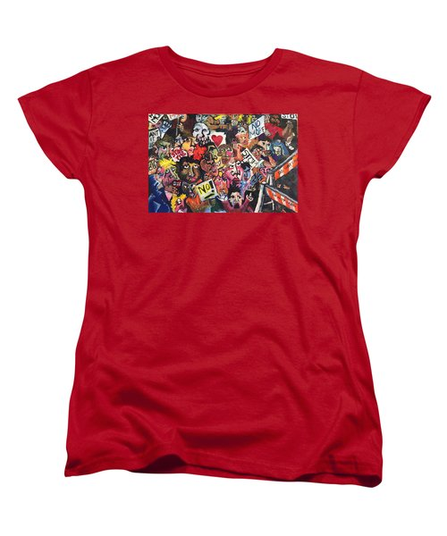 The Protest  Women's T-Shirt (Standard Cut) by Jame Hayes