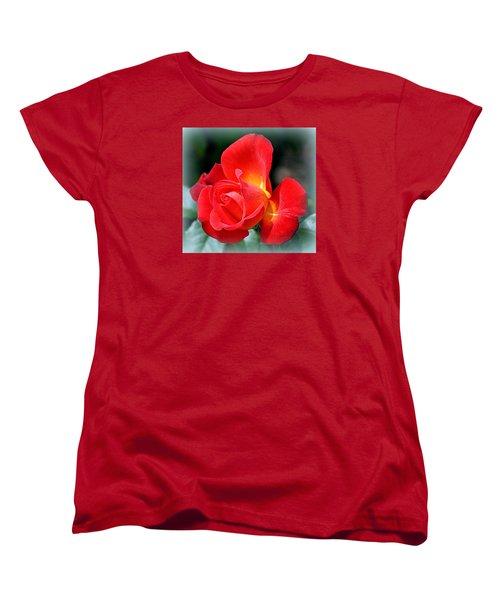 The Red Rose Women's T-Shirt (Standard Cut)