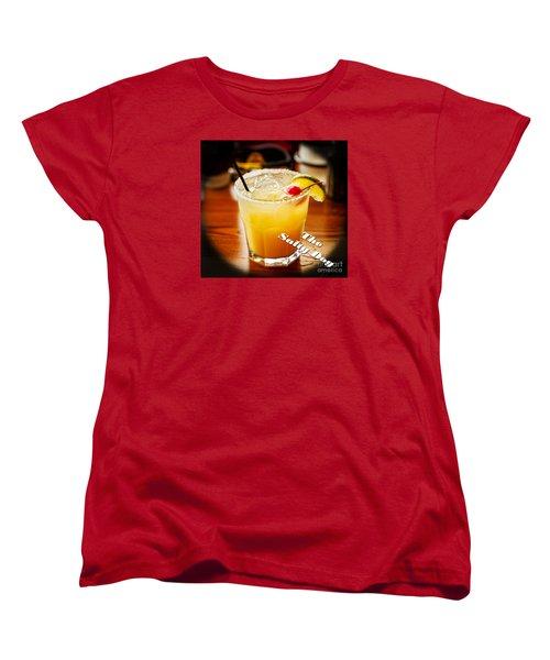 The Salty Dog Women's T-Shirt (Standard Cut) by Paul Mashburn