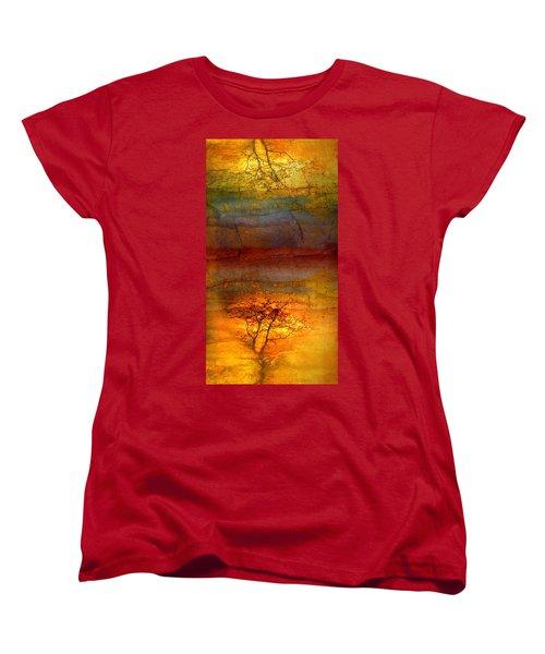 The Soul Dances Like A Tree In The Wind Women's T-Shirt (Standard Cut)