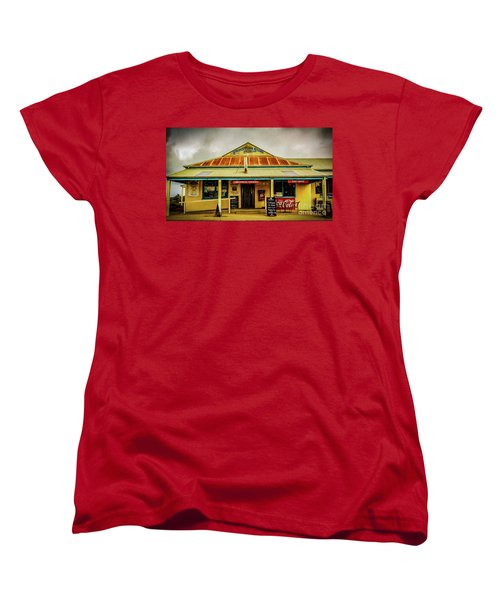 Women's T-Shirt (Standard Cut) featuring the photograph The Store by Perry Webster