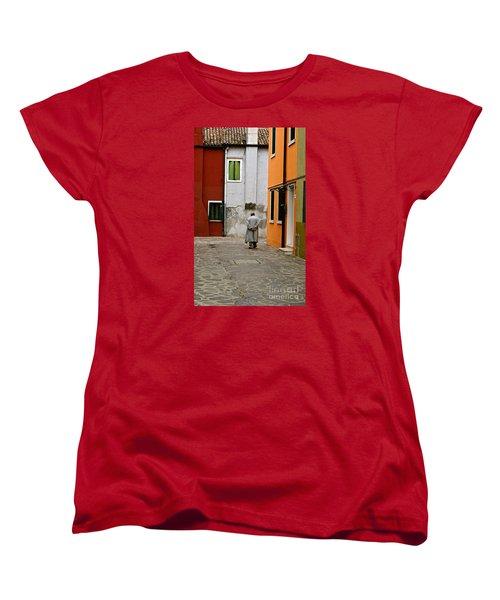 The Stroll Women's T-Shirt (Standard Cut) by Michael Cinnamond